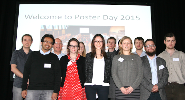 All winners for Poster Day 2015