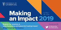 logo for Making an impact week